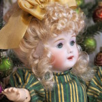 SFBJ 301 Bleuette Wearing Margie Wig in Light Peach Blonde