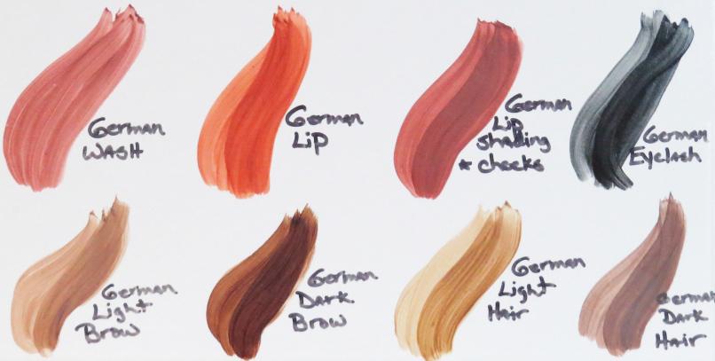 Какой цвет волос у немцев