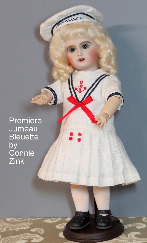 Premiere Jumeau Bleuette by Connie Zink