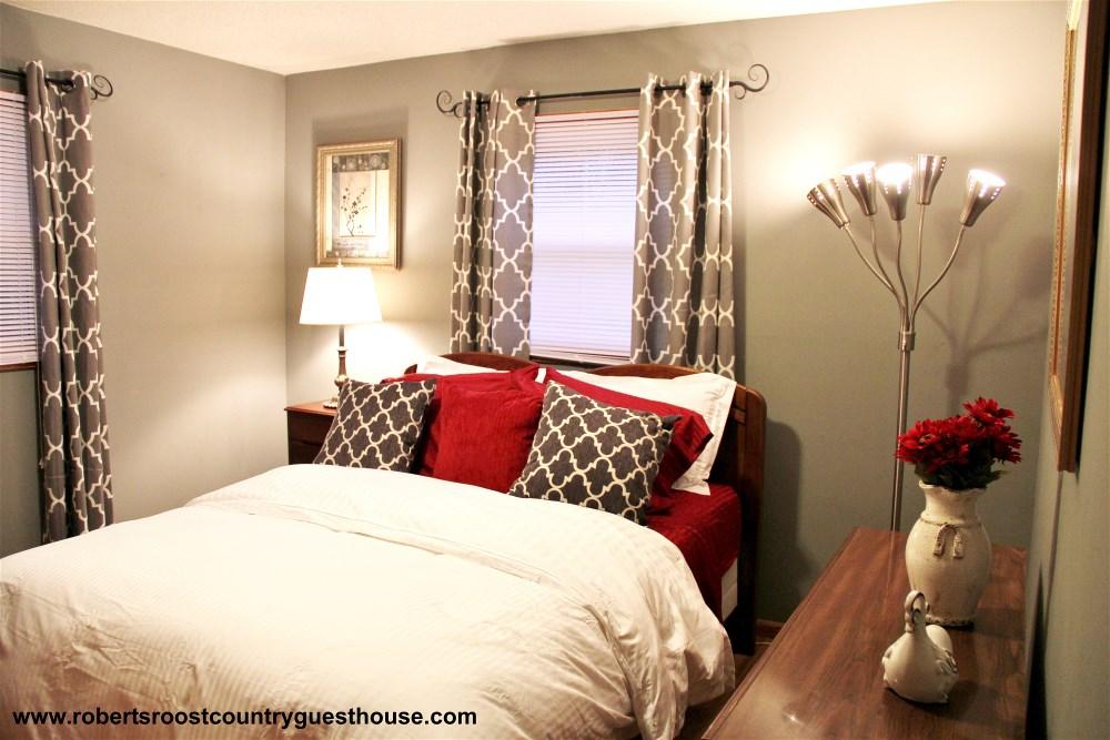 """""""Burgandy"""" Bedroom"""