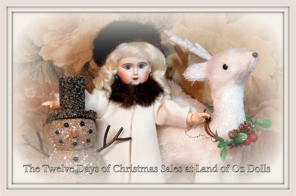 Twelve Days of Christmas Sales at Land of Oz Dolls