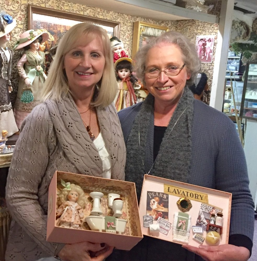 Lorna Yates and Connie Zink